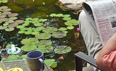 Living the Aquascape pond style life